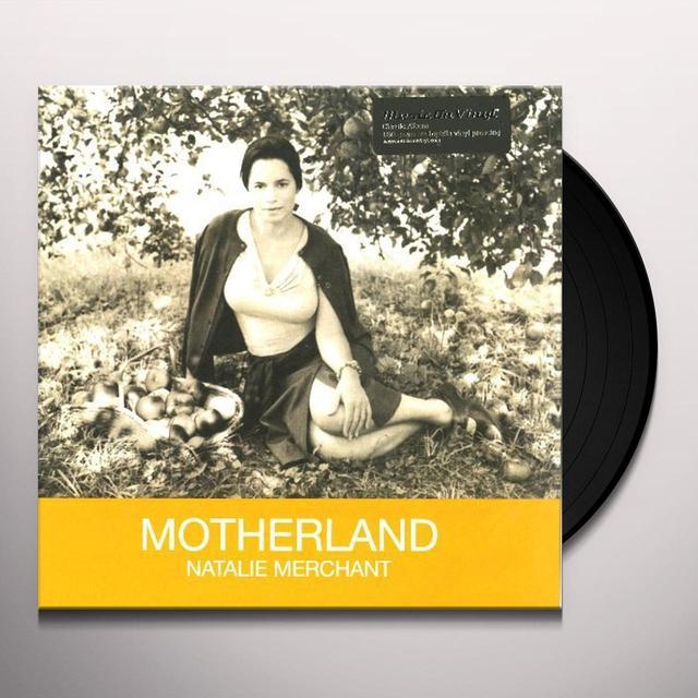 Natalie Merchant MOTHERLAND Vinyl Record - 180 Gram Pressing