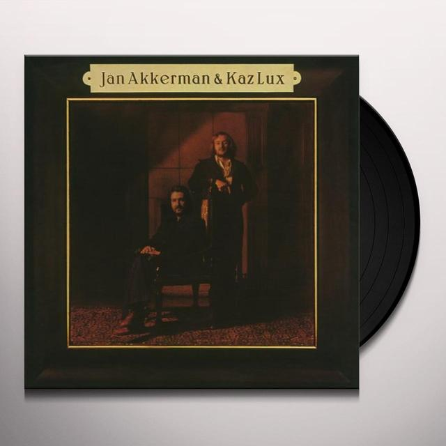 Jan Akkerman / Kaz Lux ELI Vinyl Record - 180 Gram Pressing