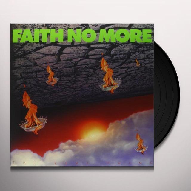 Faith No More REAL THING Vinyl Record - 180 Gram Pressing