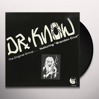 Dr. Know ORIGINAL GROUP Vinyl Record - Limited Edition