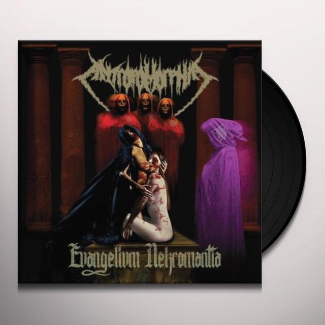 Antropomorphia EVANGELIVM NEKROMANTIA Vinyl Record - Holland Import