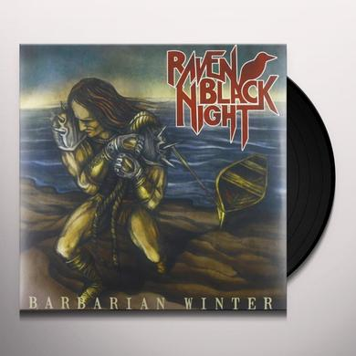 Raven Black Night BARBARIAN WINTER Vinyl Record