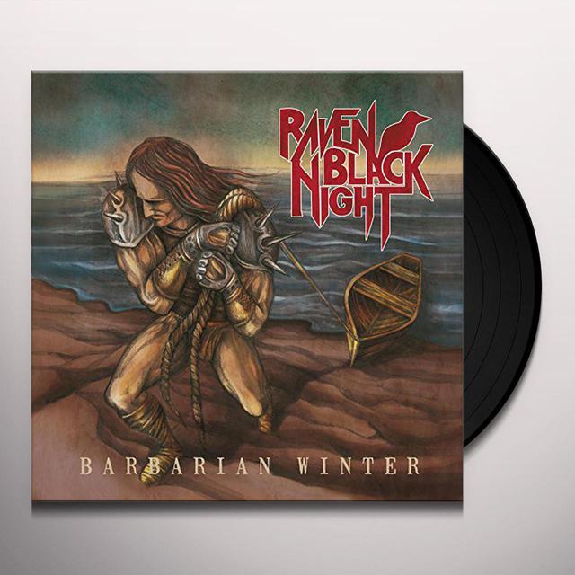 Raven Black Night BARBARIAN WINTER Vinyl Record