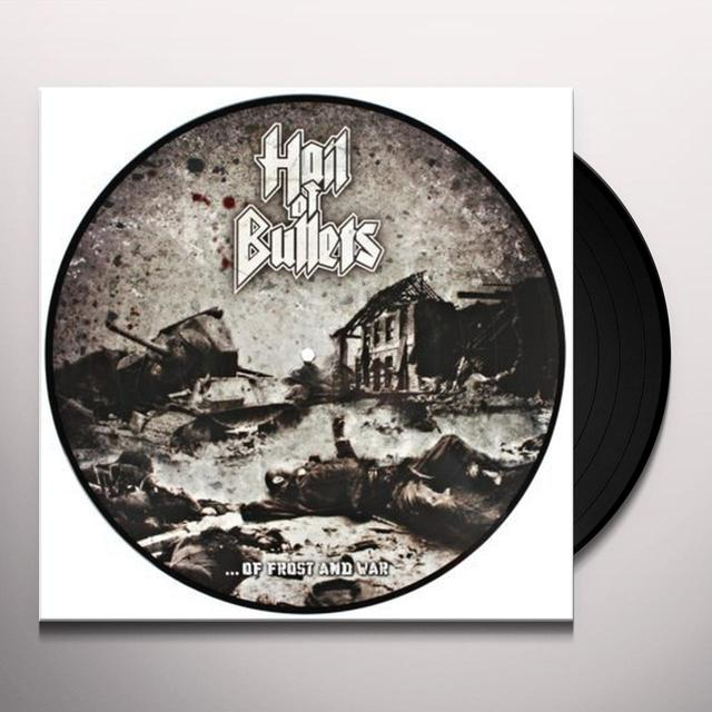 Hail Of Bullets OF FROST & WAR Vinyl Record