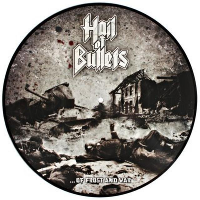Hail Of Bullets OF FROST & WAR Vinyl Record