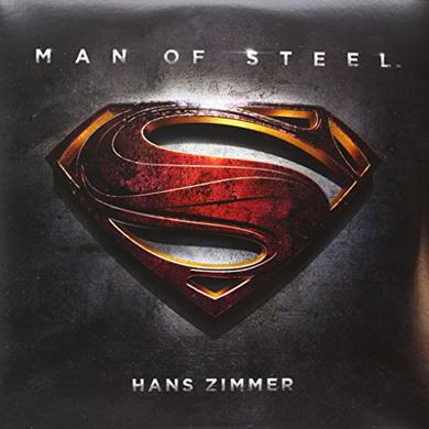 Man Of Steel / O.S.T. (Dlx) MAN OF STEEL / O.S.T. Vinyl Record - Deluxe Edition