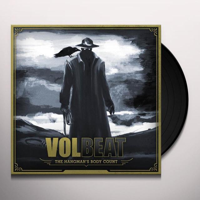 Volbeat HANGMAN'S BODY COUNT Vinyl Record