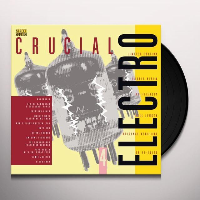 CRUCIAL ELECTRO 4 / VARIOUS Vinyl Record