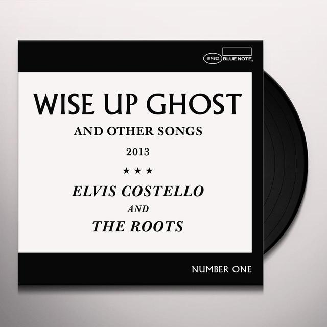 Elvis Costello & The Roots WISE UP GHOST Vinyl Record