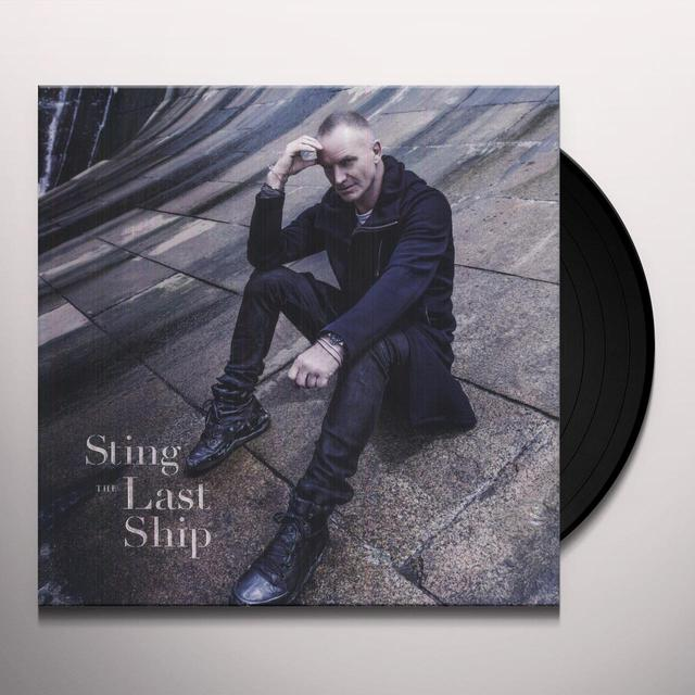 Sting LAST SHIP Vinyl Record