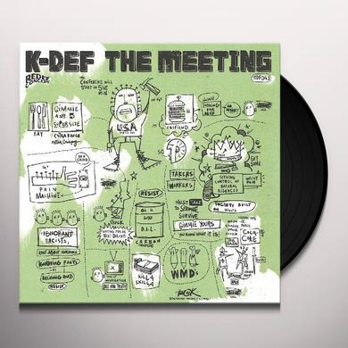K-Def MEETING Vinyl Record