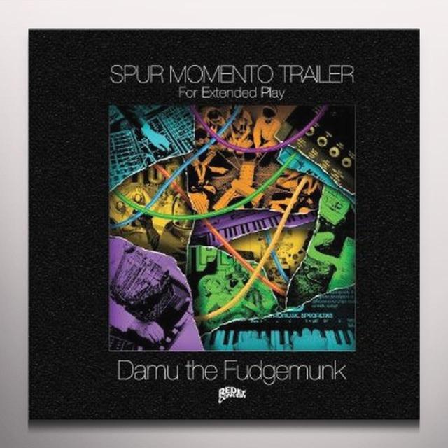 Damu The Fudgemunk SPUR MOMENTO TRAILER Vinyl Record - 10 Inch Single, Colored Vinyl