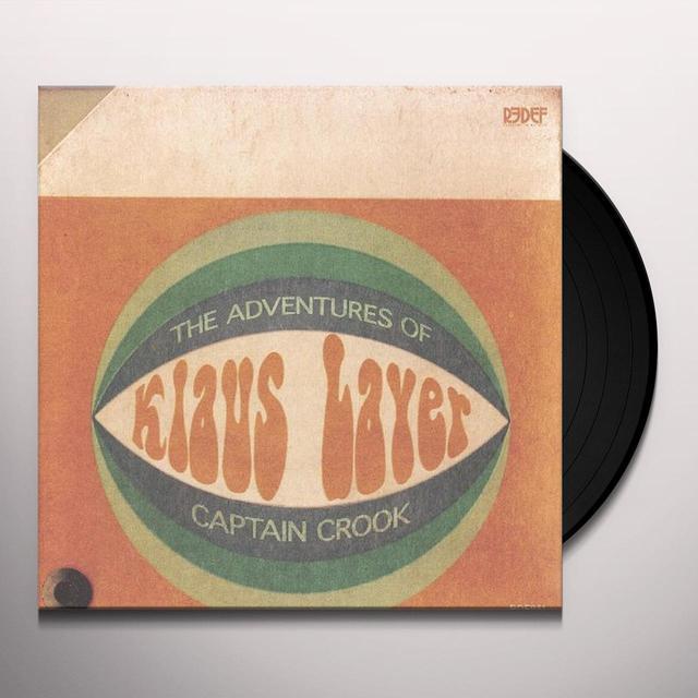 Klaus Layer ADVENTURES OF CAPTAIN CROOK Vinyl Record