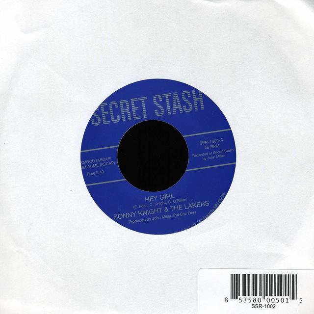 Sonny Knight & The Lakers HEY GIRL B/W SUGAR MAN Vinyl Record