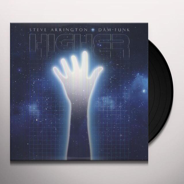 Steve Arrington & Dam Funk HIGHER (DLCD) (Vinyl)