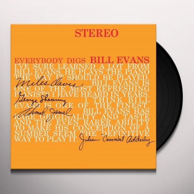 Bill Evans Trio EVERYBODY DIGS BILL EVANS Vinyl Record - Limited Edition