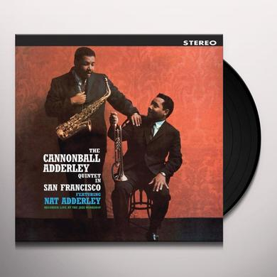 Cannonball Adderley Quintet IN SAN FRANCISCO Vinyl Record - Limited Edition