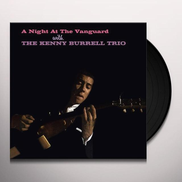 Kenny Trio Burrell NIGHT AT THE VANGUARD Vinyl Record - Limited Edition