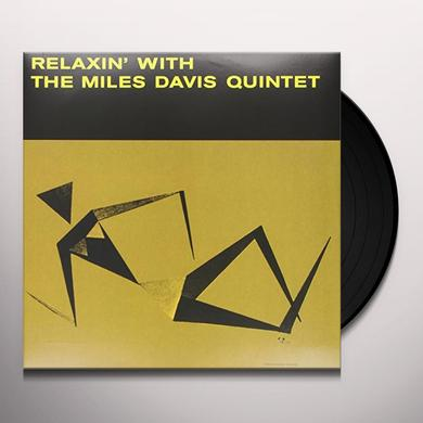 RELAXIN WITH THE MILES DAVIS QUINTET Vinyl Record - Limited Edition