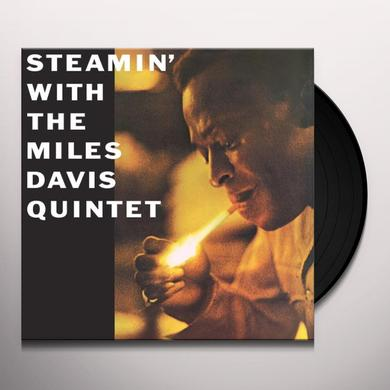 STEAMIN WITH THE MILES DAVIS QUINTET Vinyl Record