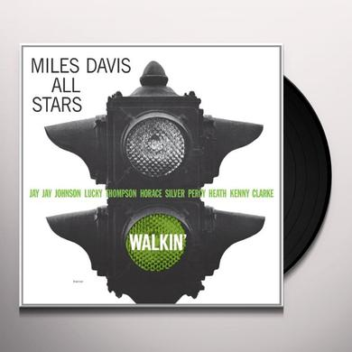 Miles All Stars Davis WALKIN Vinyl Record - Limited Edition
