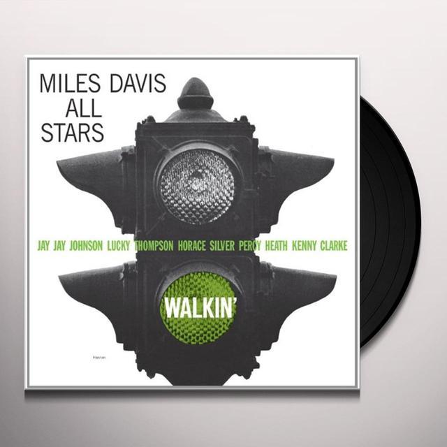 Miles All Stars Davis WALKIN Vinyl Record - Limited Edition