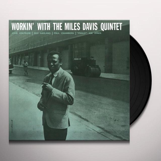 WORKIN WITH THE MILES DAVIS QUINTET Vinyl Record - Limited Edition