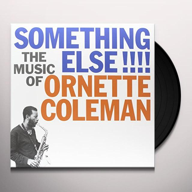 SOMETHING ELSE THE MUSIC OF ORNETTE COLEMAN Vinyl Record - Limited Edition