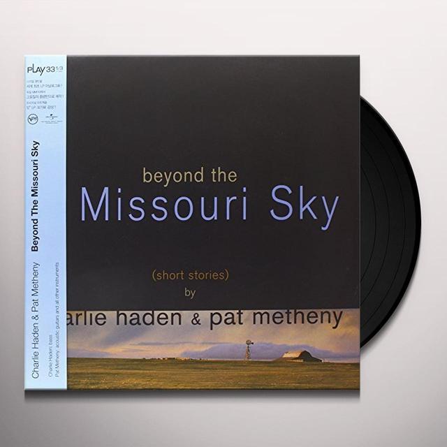 Charlie Haden / Pat Metheny BEYOND THE MISSOURI SKY Vinyl Record - 180 Gram Pressing, Deluxe Edition