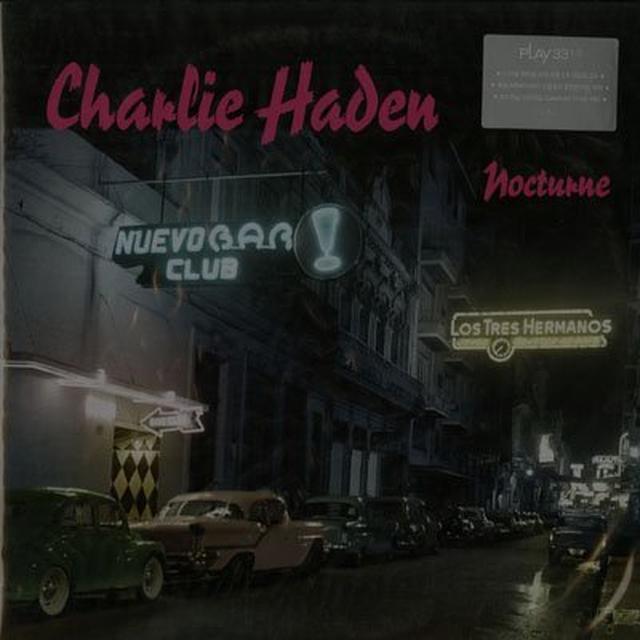 Charlie Haden NOCTURNE Vinyl Record