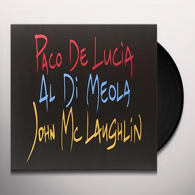 Paco Delucia / Al Dimeola / John Mclaughlin GUITAR TRIO Vinyl Record