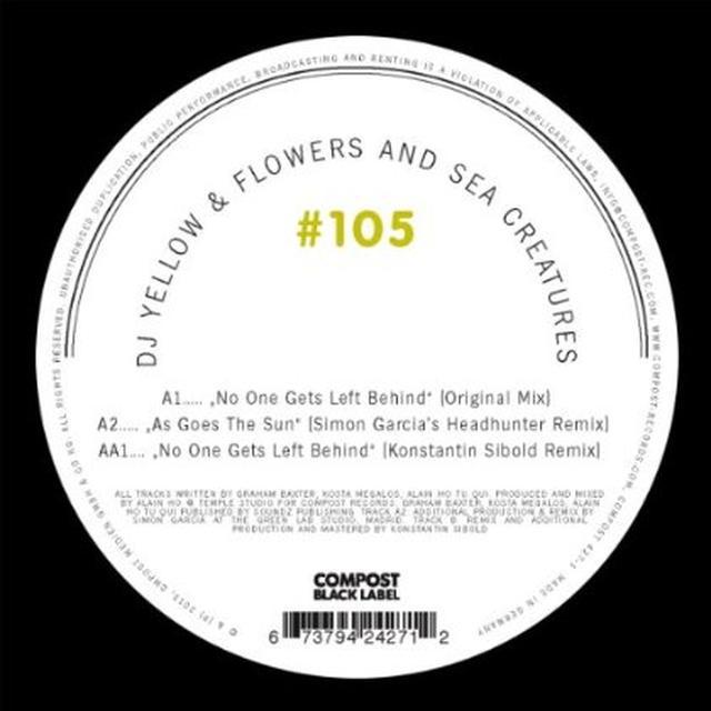 Dj Yellow / Flowers & Sea Creatures COMPOST BLACK LABEL 105 Vinyl Record