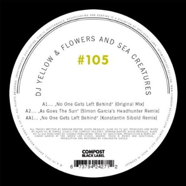 Dj Yellow / Flowers & Sea Creatures COMPOST BLACK LABEL 105 Vinyl Record