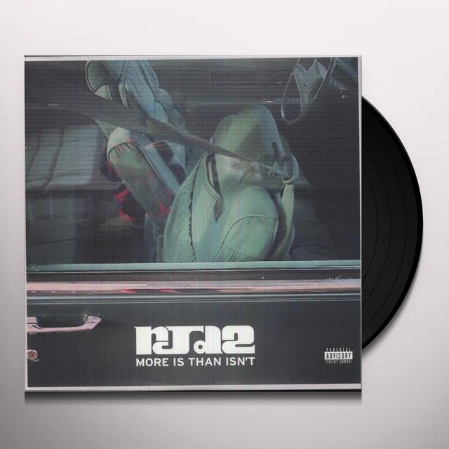 Rjd2 MORE IS THAN ISN'T Vinyl Record