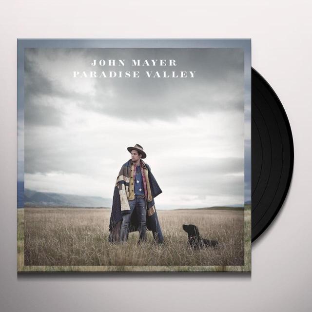 John Mayer PARADISE VALLEY Vinyl Record - w/CD, 180 Gram Pressing