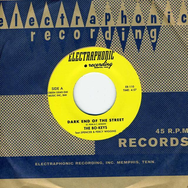 The Bo-Keys DARK END OF THE STREET Vinyl Record