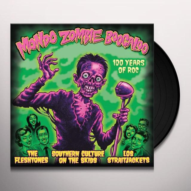 Straitjackets, S.C.O.T.S & Fleshtones MONDO ZOMBIE BOOGALOO Vinyl Record