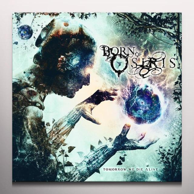 Born Of Osiris TOMORROW WE DIE ALIVE (MIDNIGHT BLUE VINYL) Vinyl Record - Colored Vinyl
