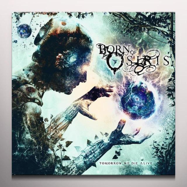 Born Of Osiris TOMORROW WE DIE ALIVE (MIDNIGHT BLUE VINYL) Vinyl Record - Colored Vinyl
