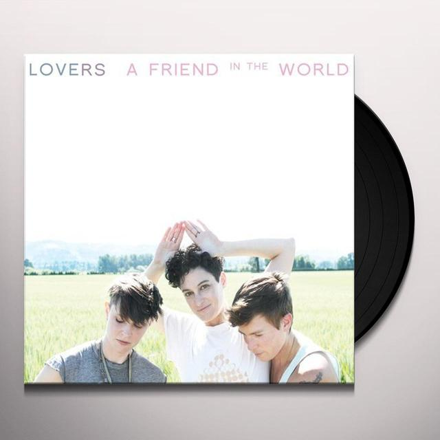 Lovers FRIEND IN THE WORLD Vinyl Record