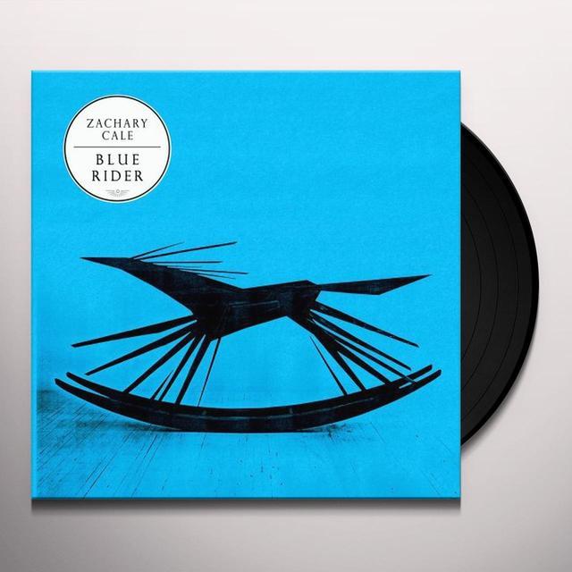 Zachary Cale BLUE RIDER Vinyl Record