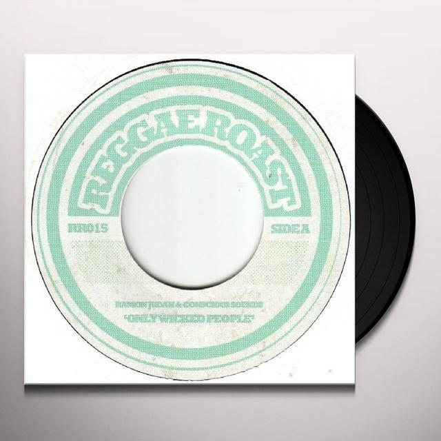 Ramon Judah ONLY WICKED PEOPLE Vinyl Record