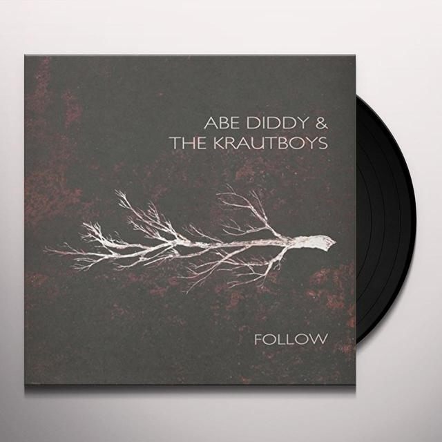 Abe Diddy & Krautboys FOLLOW Vinyl Record - Holland Import