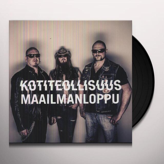 Kotiteollisuus MAAILMANLOPPU Vinyl Record