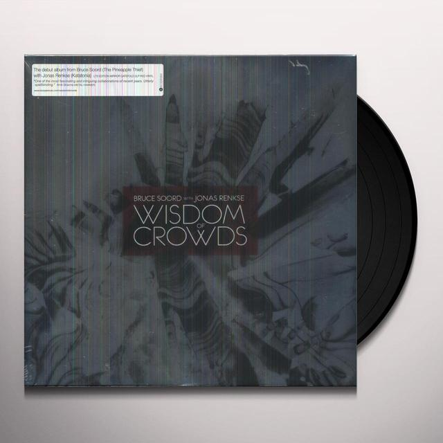 Bruce Soord / Jonas Rens WISDOM OF CROWDS Vinyl Record