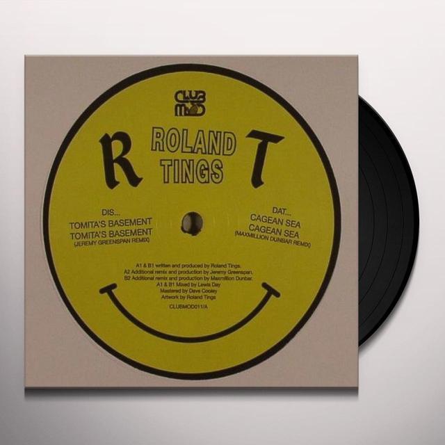 Roland Tings TOMITA'S BASEMENT Vinyl Record