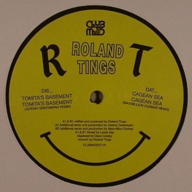 Roland Tings TOMITA'S BASEMENT Vinyl Record