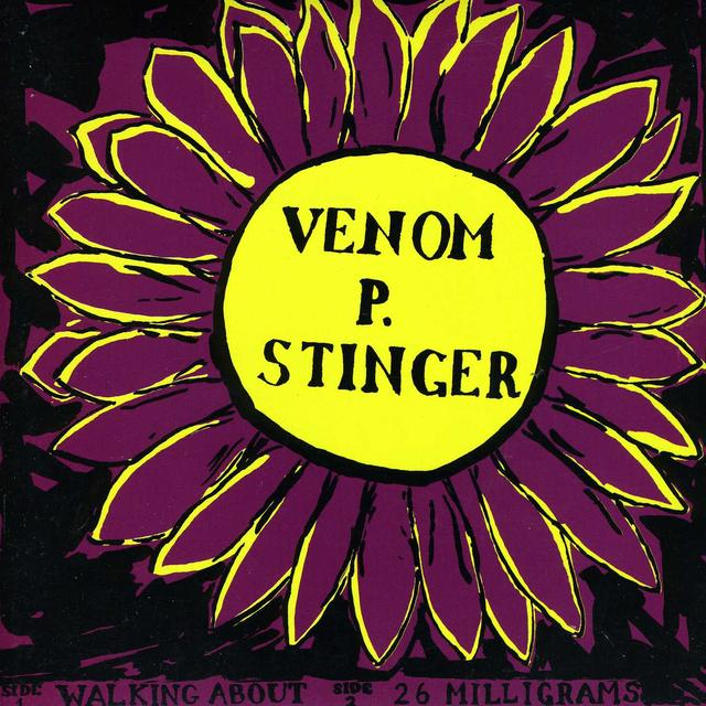 Venom P. Stinger WALKING ABOUT Vinyl Record