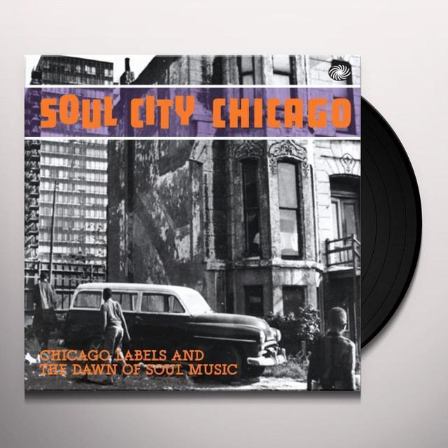 SOUL CITY CHICAGO / VARIOUS Vinyl Record