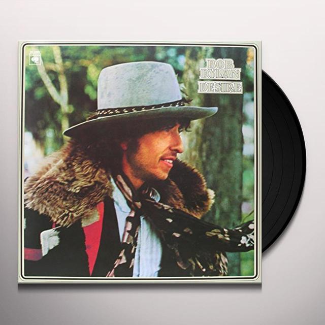 Bob Dylan DESIRE Vinyl Record - 180 Gram Pressing